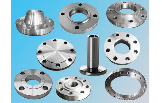 Flanges & Machined Forgings